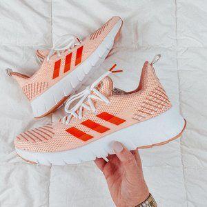 Adidas Asweego Cleora orange running sneaker 9.5